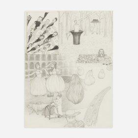 Jim Shaw Dream Drawing