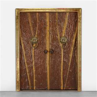 Phillip Lloyd Powell, custom doors for a private home