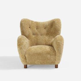Flemming Lassen, Attribution, Lounge Chair