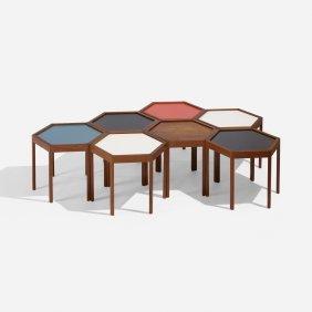 Hans Andersen, Occasional Tables, Set Of Seven