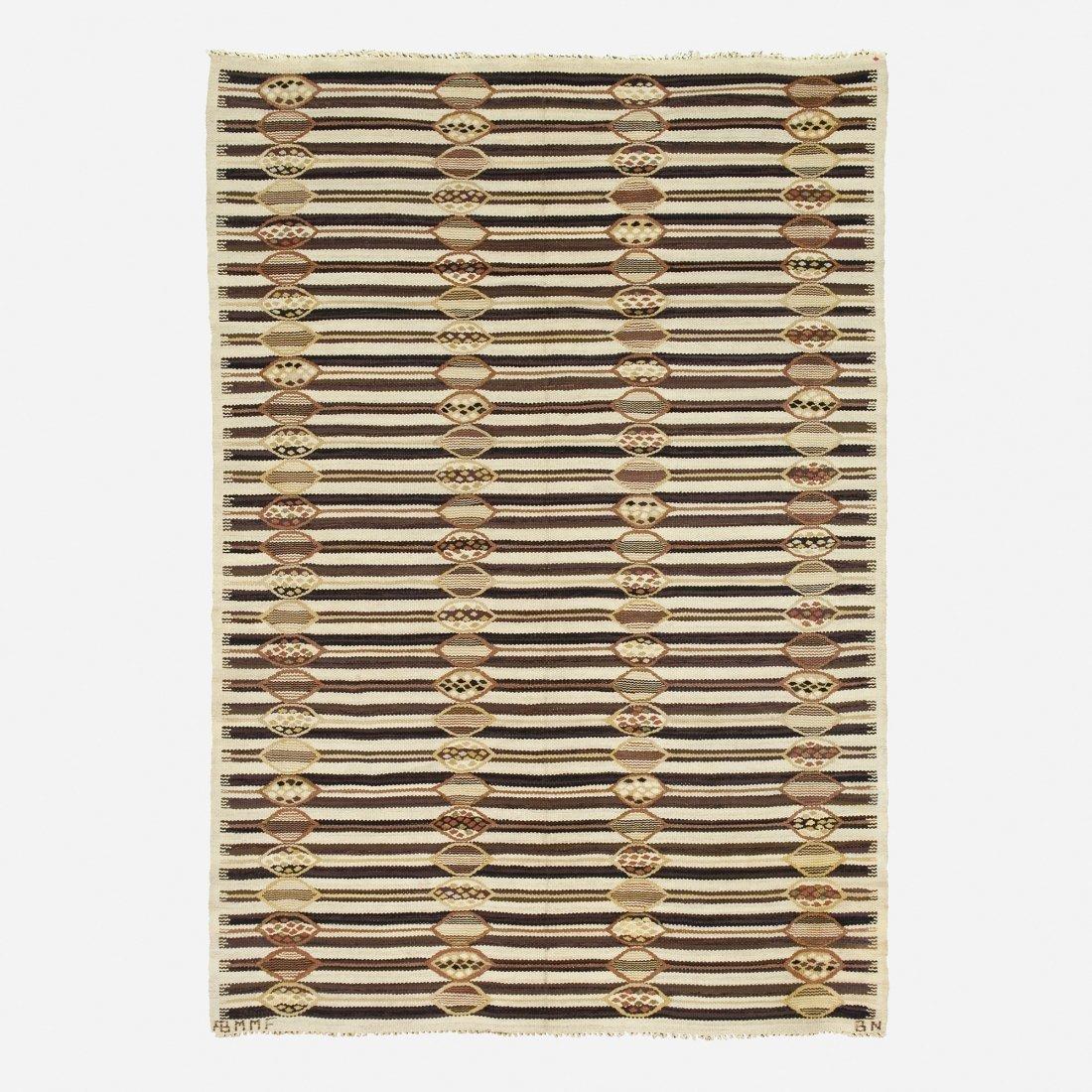 Barbro Nilsson, Matten E tapestry weave carpet
