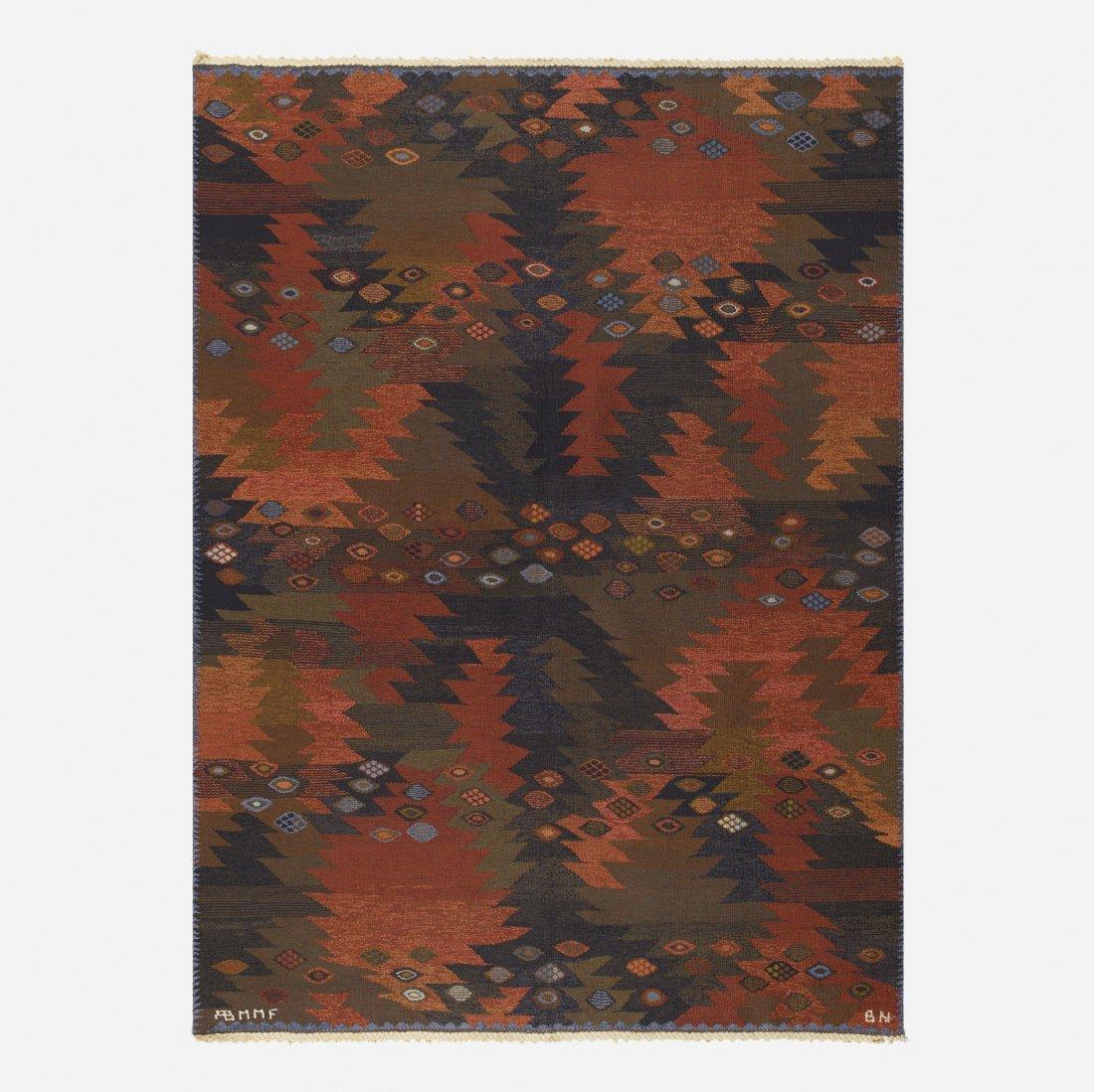 Barbro Nilsson, Tanga tapestry weave carpet
