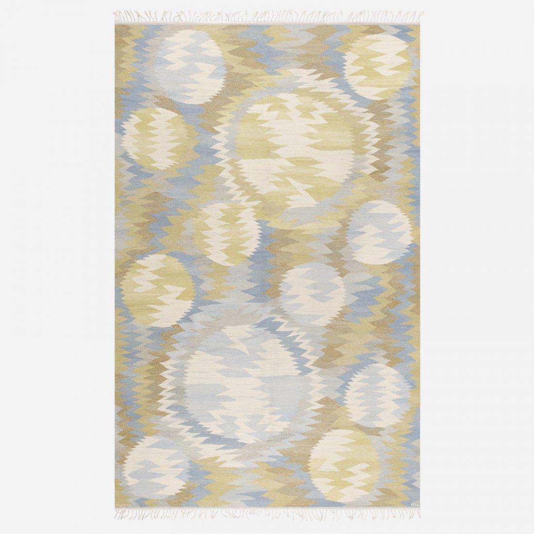 Barbro Nilsson, Solflackar tapestry weave carpet