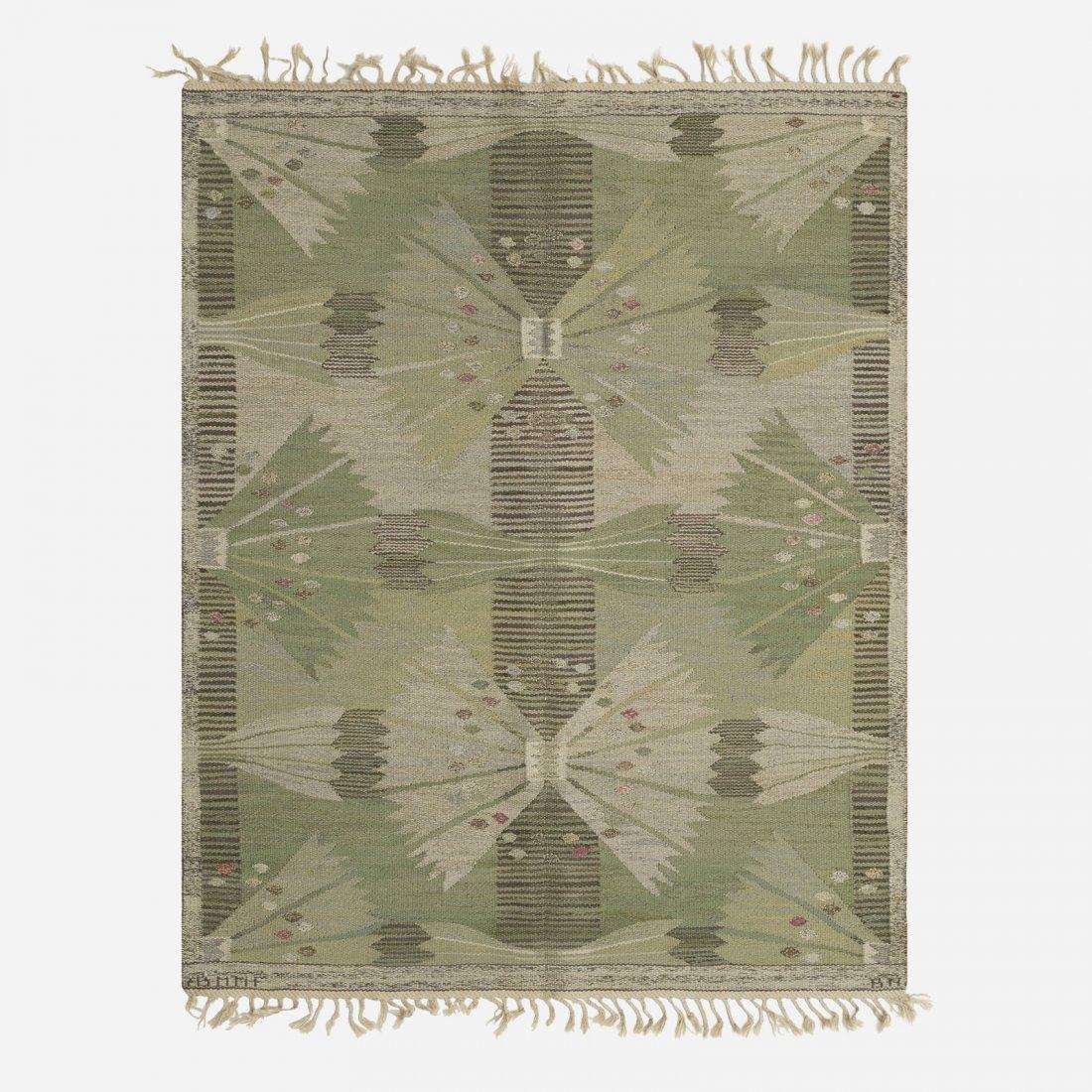 Barbro Nilsson, The Park, Falkman tapestry weave carpet