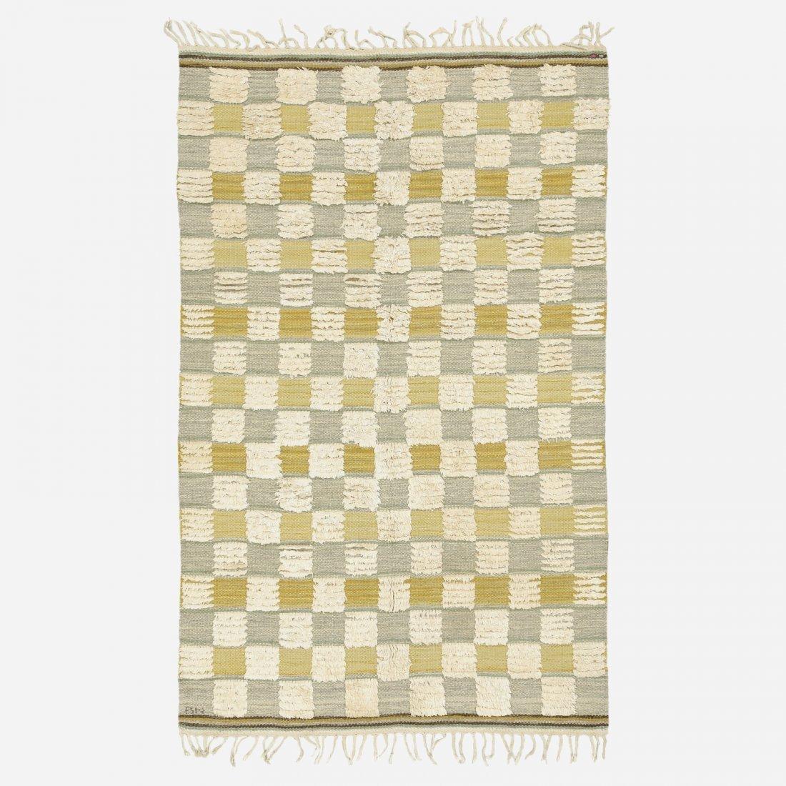 Barbro Nilsson, Schackrutig half-pile carpet