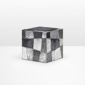 Paul Evans, Argente Cube Table, Model Pe 37