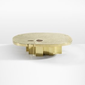 Jean Claude Dresse, Rare And Important Coffee Table