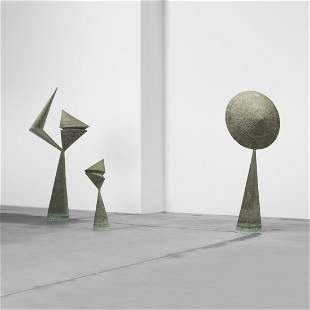 Harry Bertoia, Important and Monumental sculptures