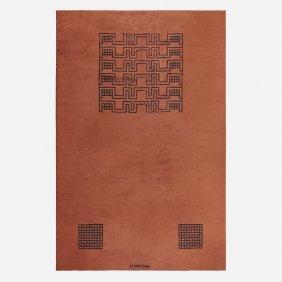Ivan Da Silva Bruhns, Rare Pile Carpet