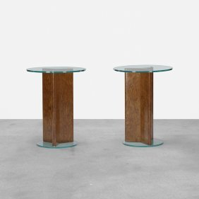 Samuel Marx, Pair Of Occasional Tables