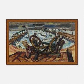 Maurice Freedman, Untitled (harbor)