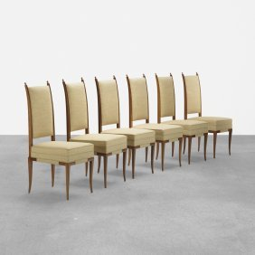 Tommi Parzinger, Chairs, Set Of Six