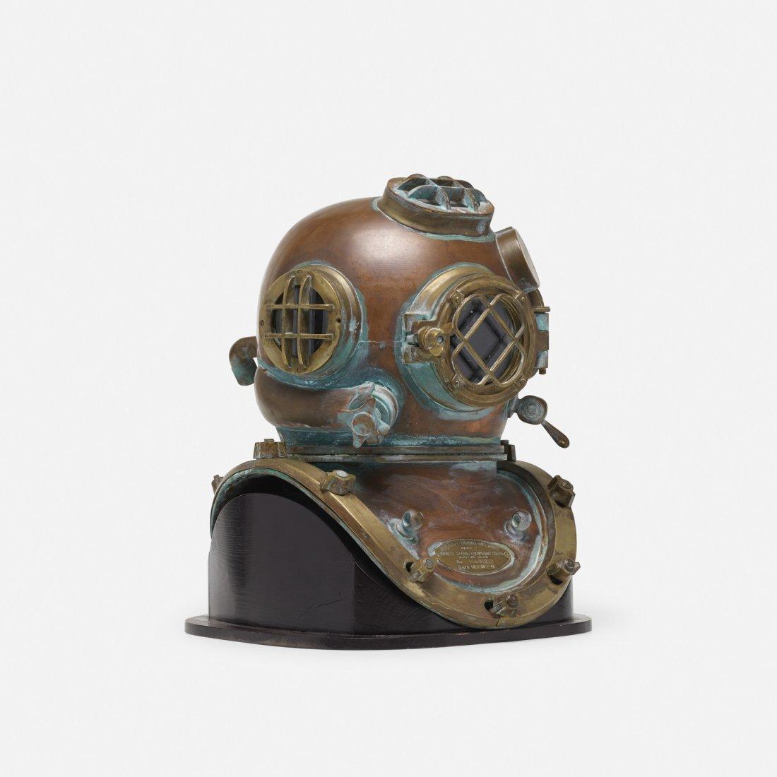 Morse Diving Equipment, U.S. Navy Mark V diving helmet - 2