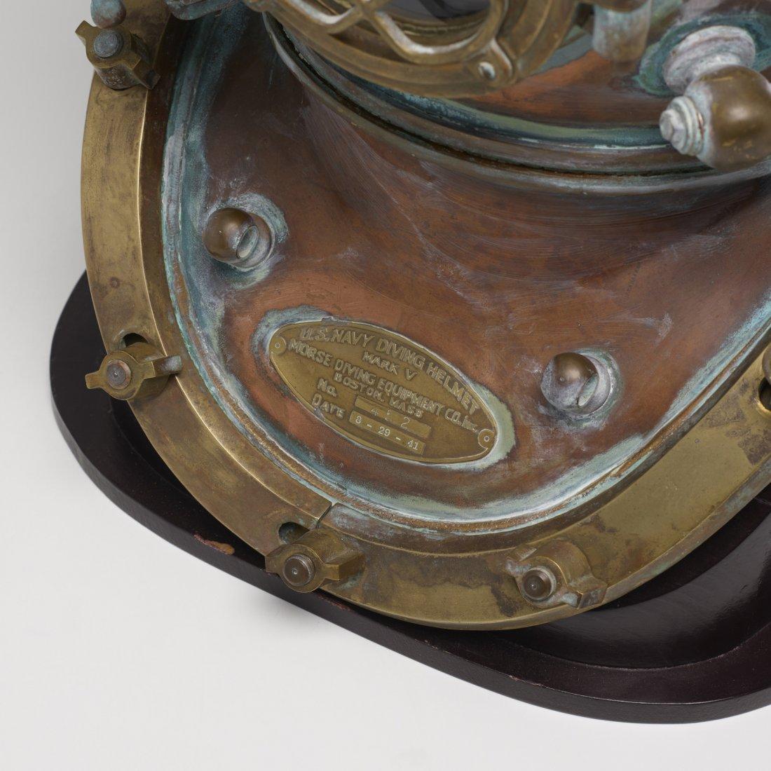 Morse Diving Equipment, U.S. Navy Mark V diving helmet - 3