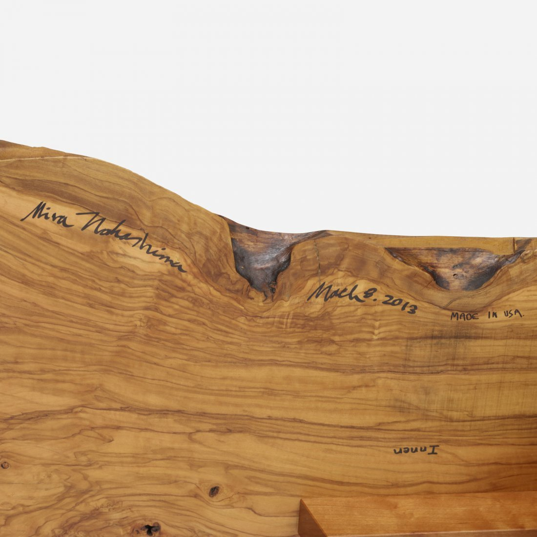 Mira Nakashima, Minguren I coffee table - 4
