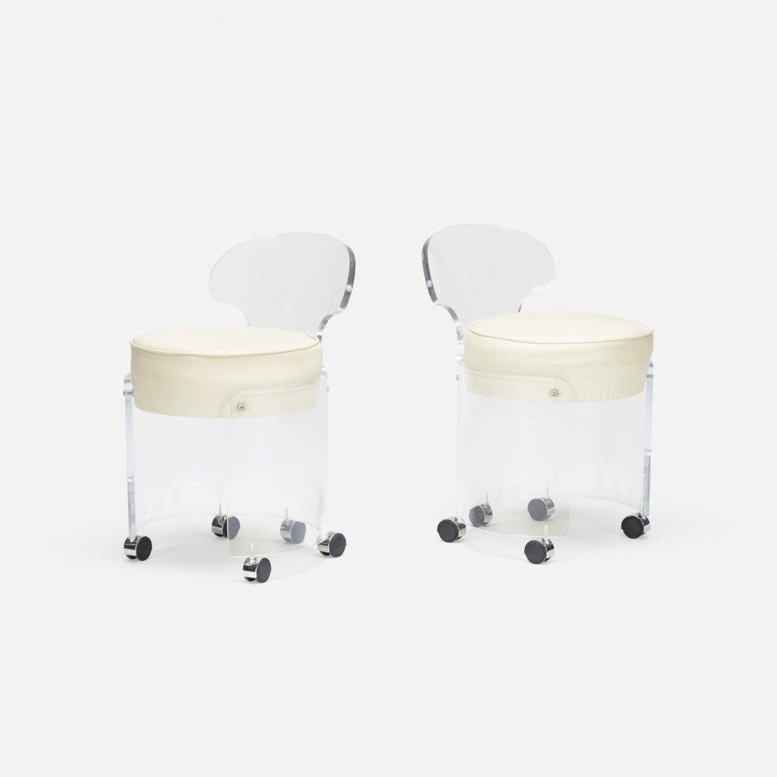 American, vanity chairs, pair