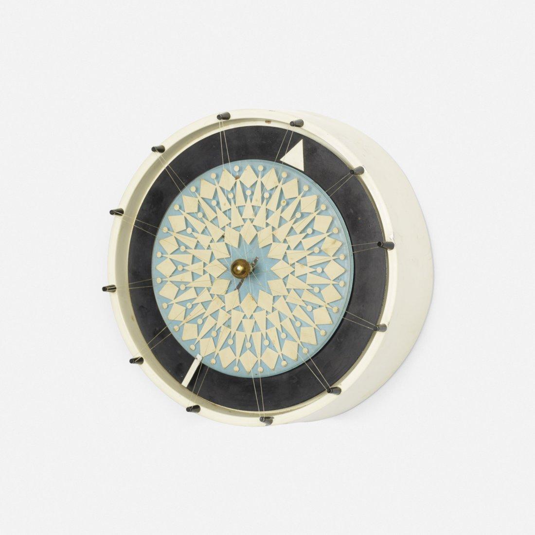 George Nelson & Assoc., Compass wall clock, model 2278
