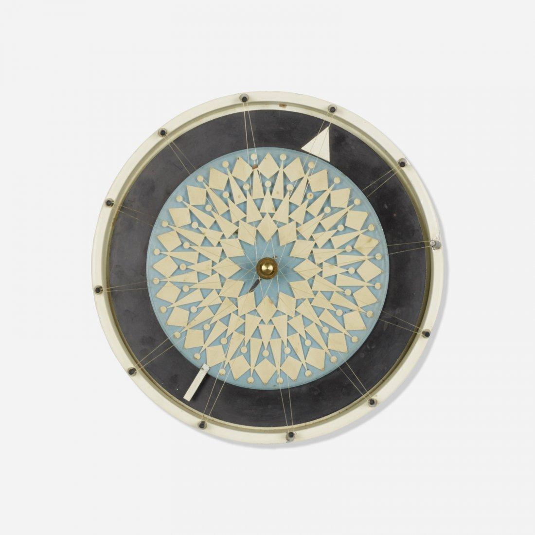 George Nelson & Assoc., Compass wall clock, model 2278 - 2