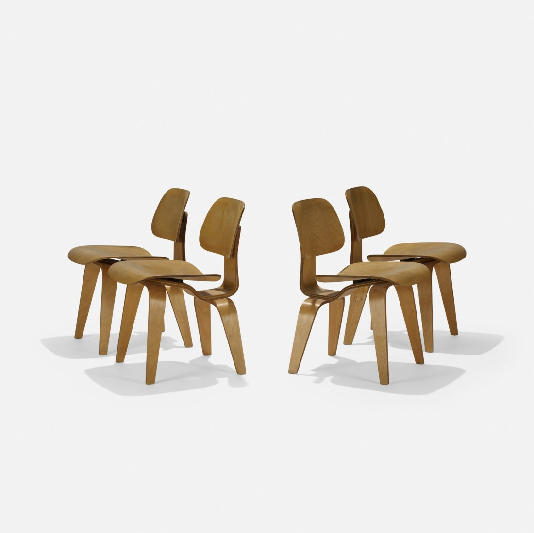 Charles and Ray Eames, DCWs, set of four - 2