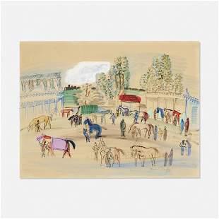 Raoul Dufy, Paddock Scene