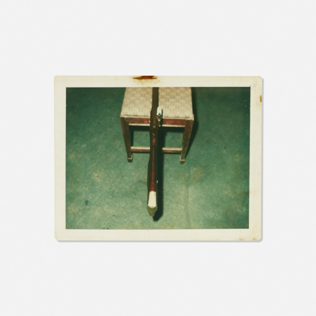Andy Warhol, Untitled (Rifle on a Chair)