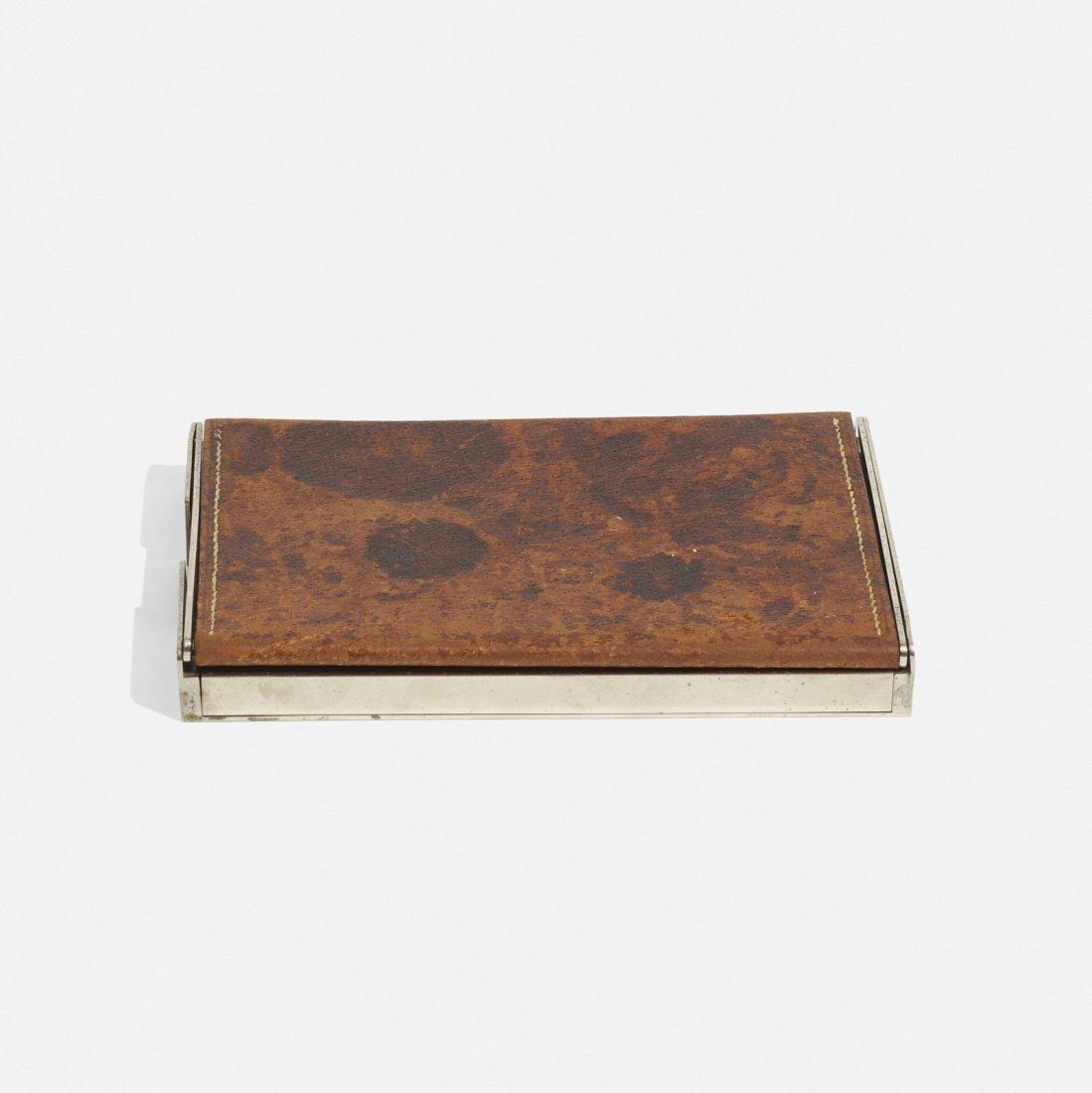 Carl Aubock II, early cigarette box - 2