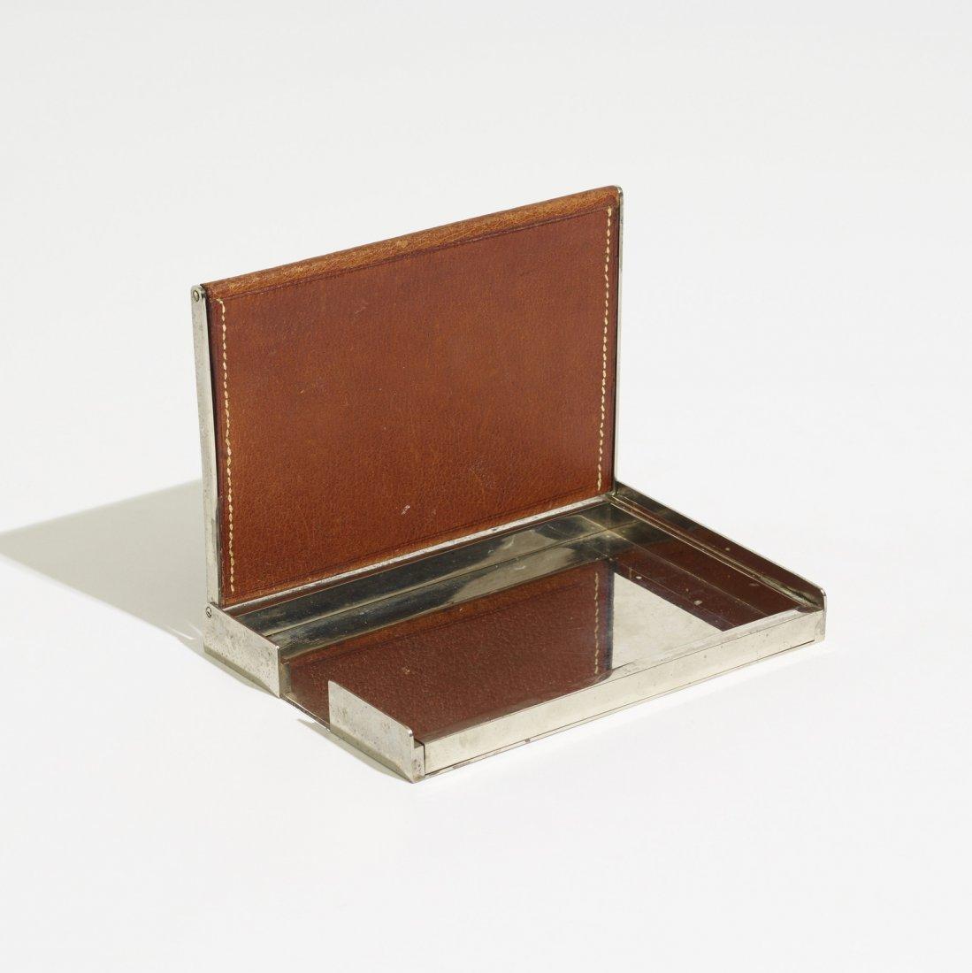 Carl Aubock II, early cigarette box - 3