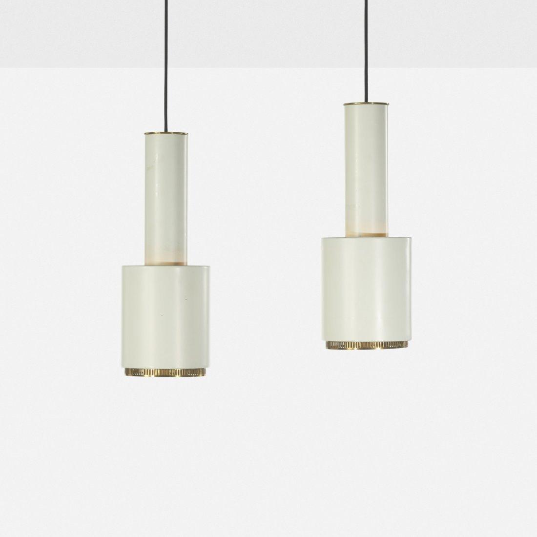 Alvar Aalto, pendant lamps, pair