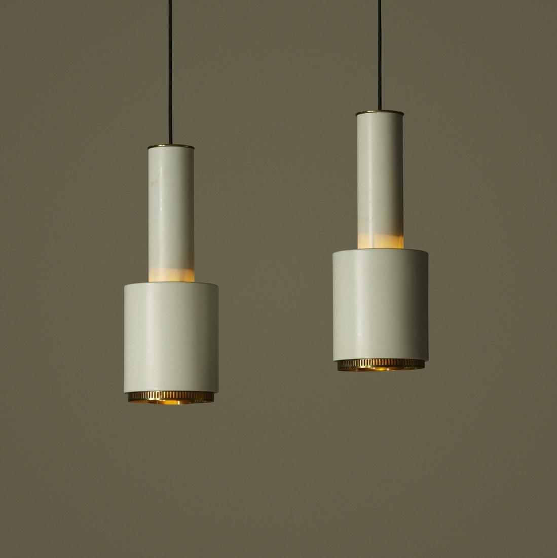 Alvar Aalto, pendant lamps, pair - 2