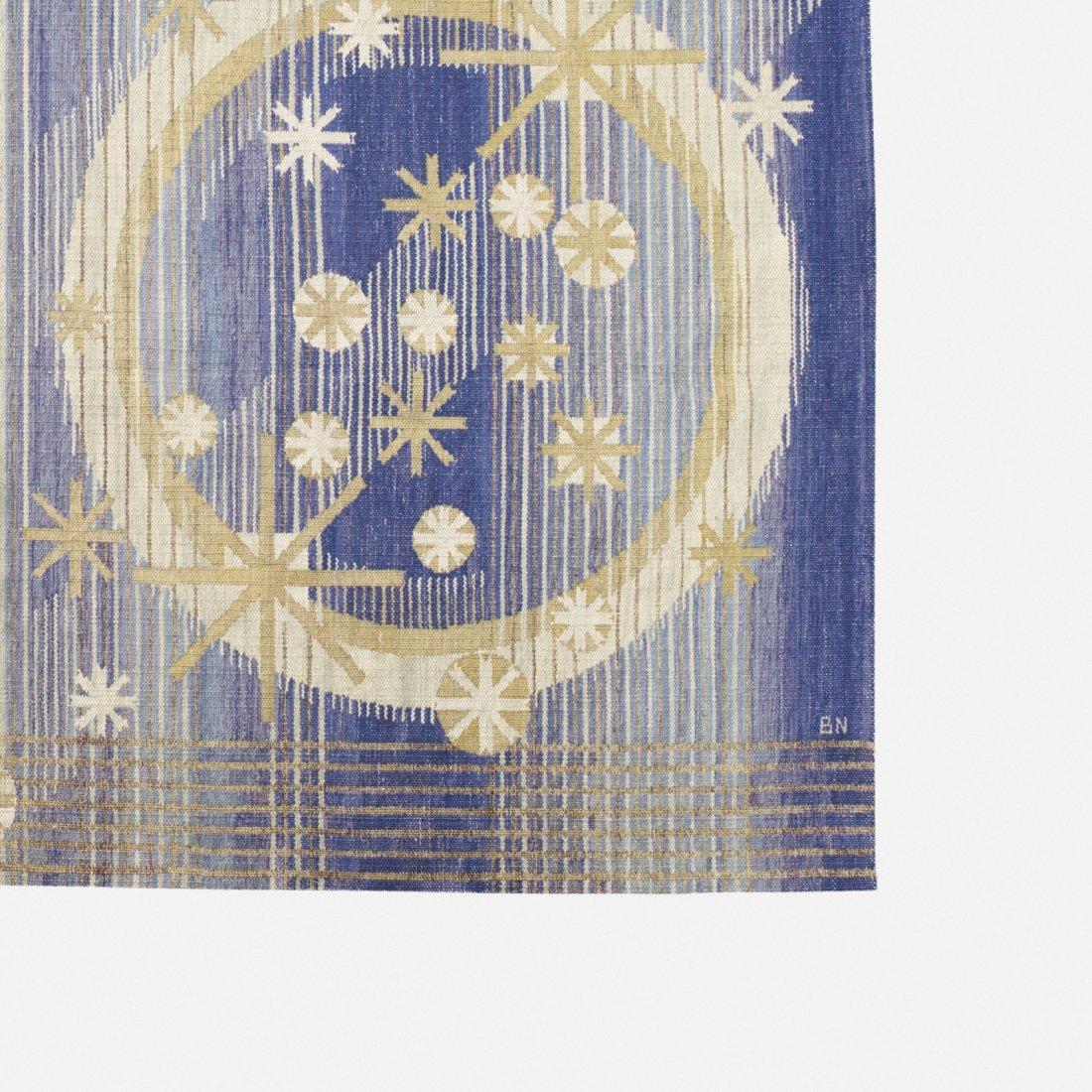 Barbro Nilsson, rare Sol mane och stjärnor tapestry - 2