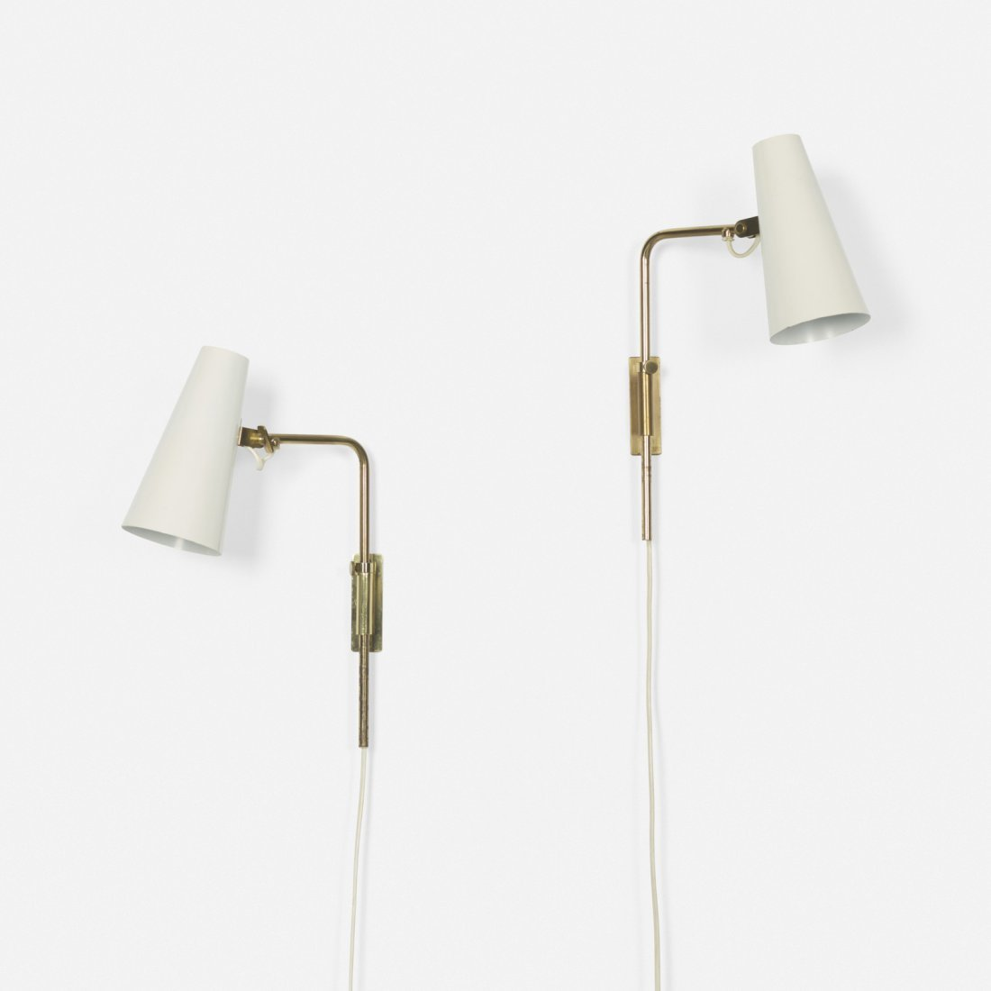 Paavo Tynell, sconces model 9459, pair