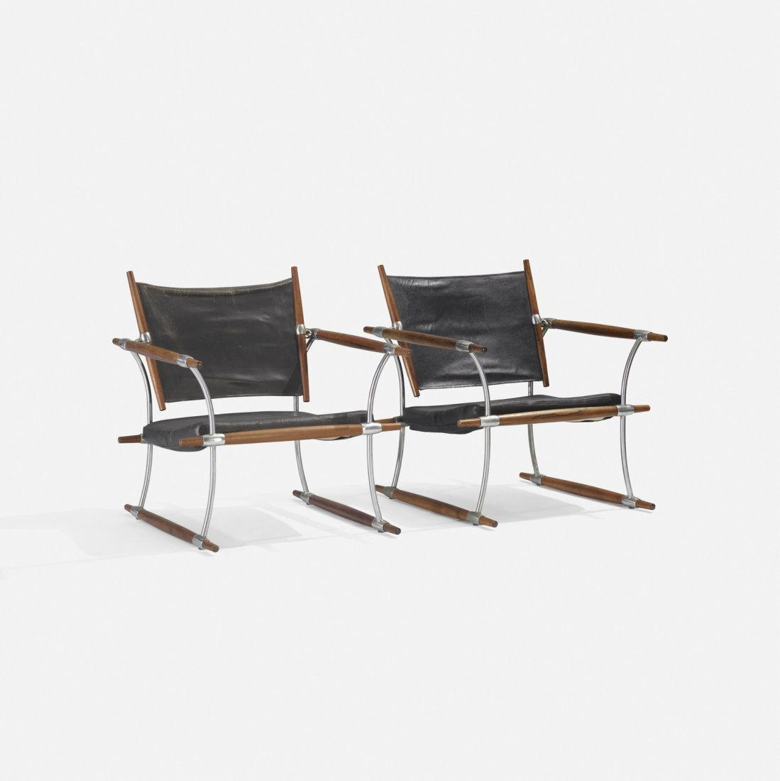 Jens Quistgaard, Stocke lounge chairs, pair