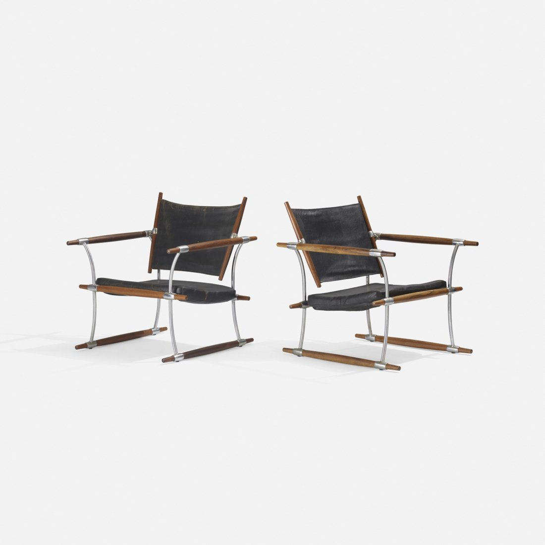 Jens Quistgaard, Stocke lounge chairs, pair - 2