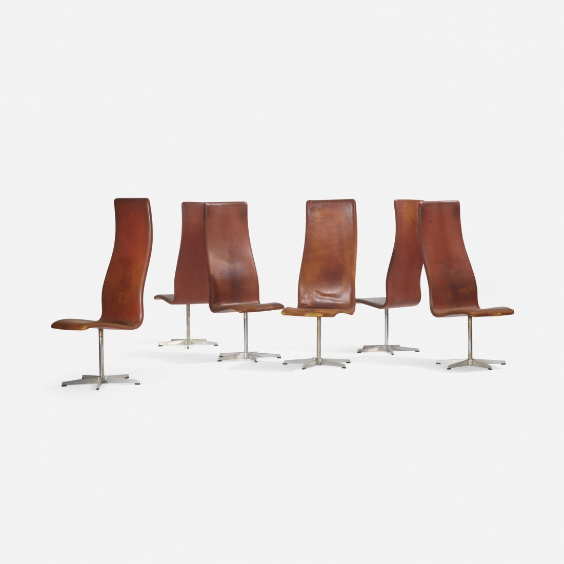 Arne Jacobsen, Oxford chairs model 7403, set of six - 2
