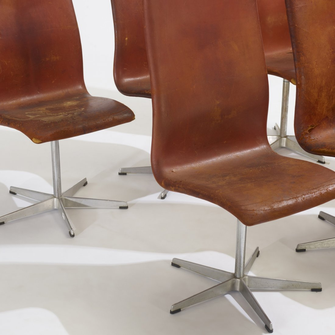 Arne Jacobsen, Oxford chairs model 7403, set of six - 3