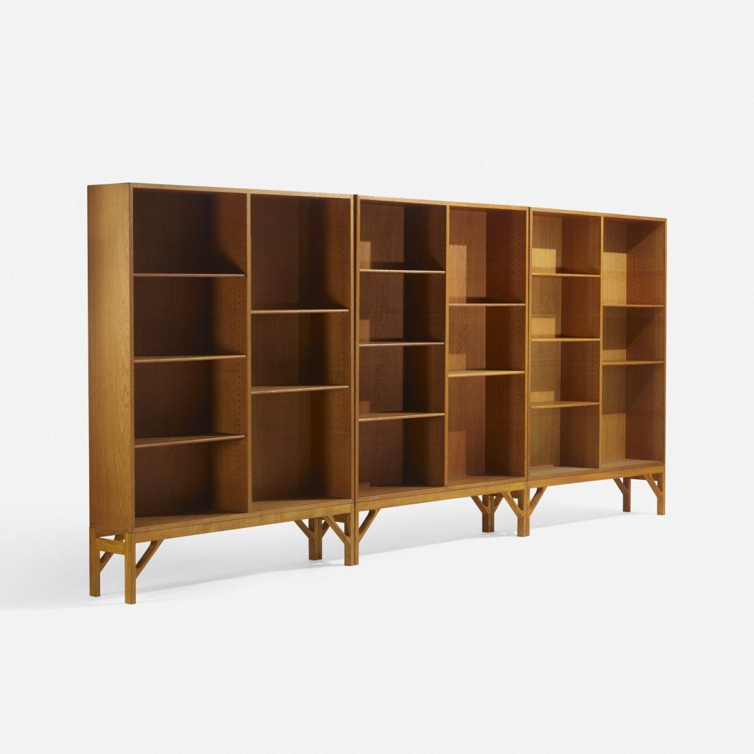 Borge Mogensen, bookcases, set of three