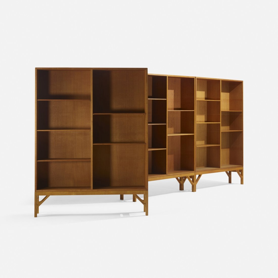 Borge Mogensen, bookcases, set of three - 2