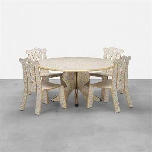 Robert Venturi with Denise Scott Brown, dining set