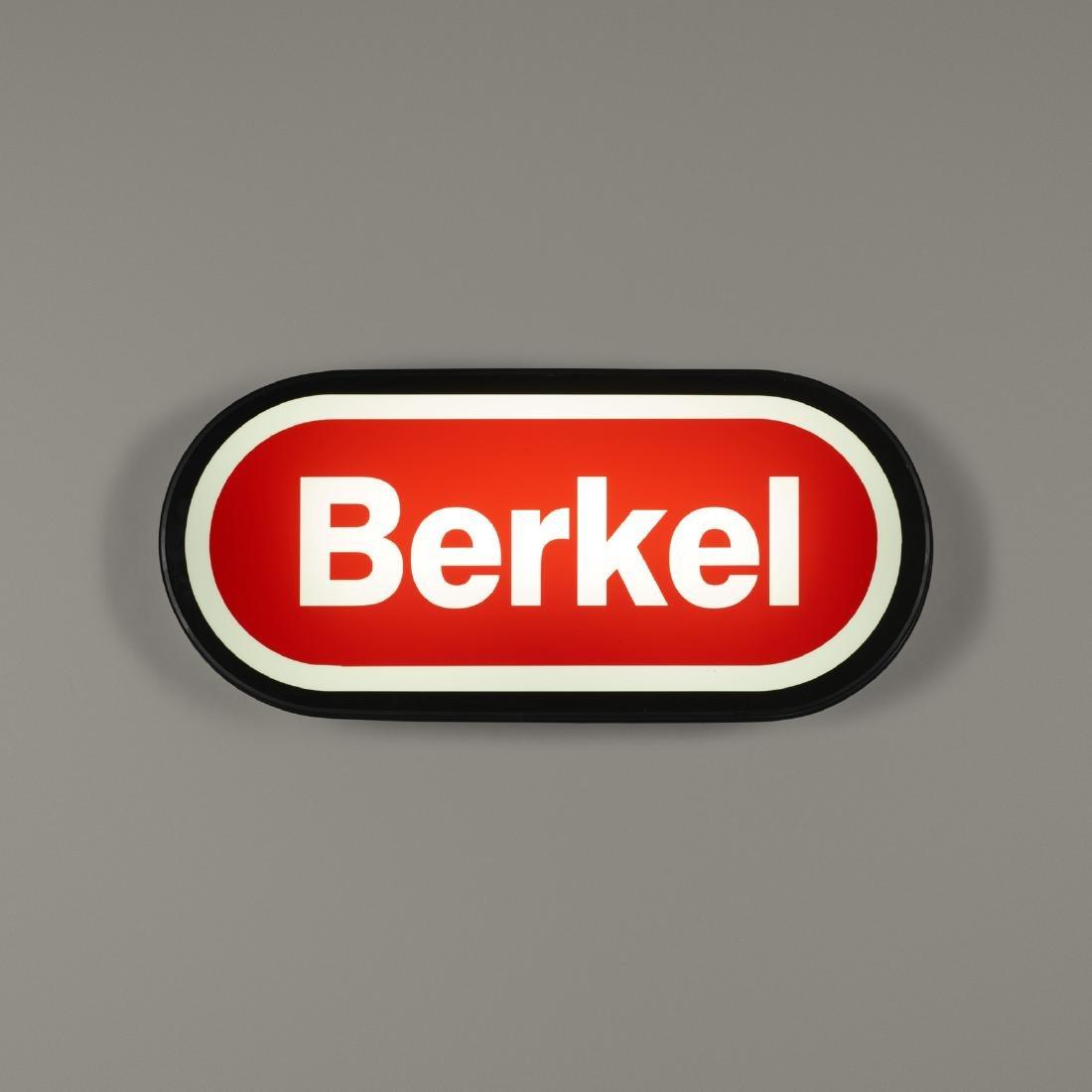 Berkel, illumated sign