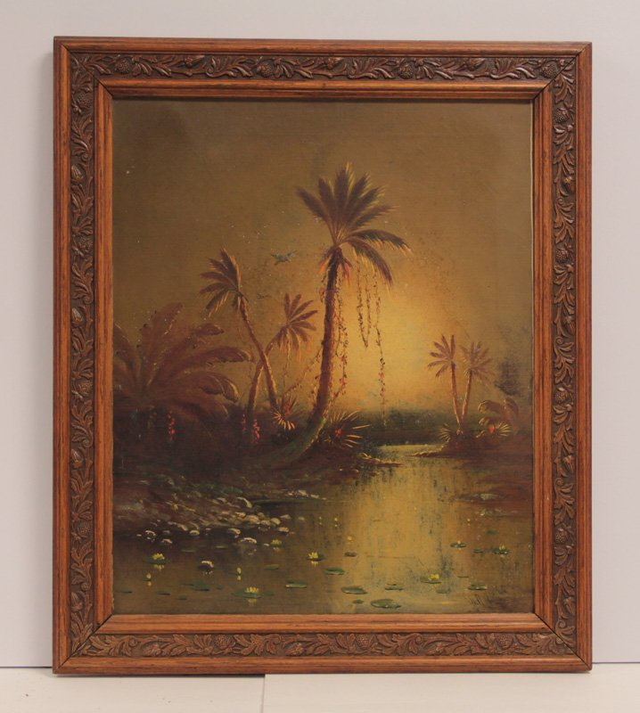Oil Paint on Canvas by A.D. M Cooper