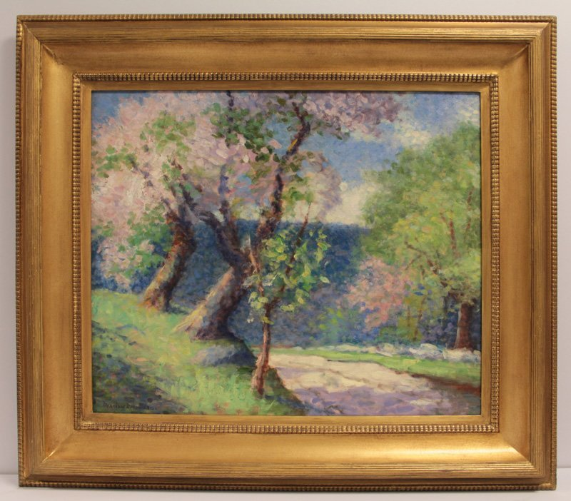 MARION P HOWARD AMERICAN 1883-1953 OIL PAINTING