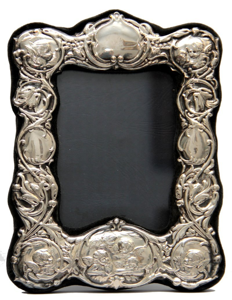 ENGLISH SILVER PICTURE FRAME
