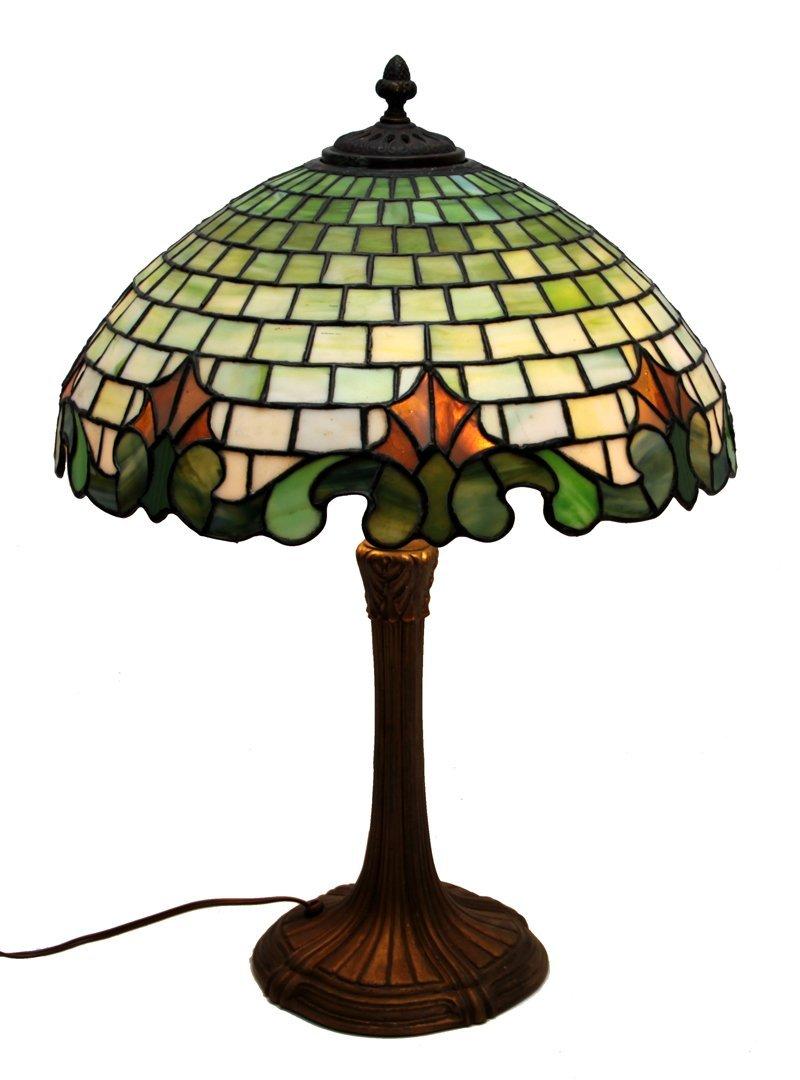 DUFFNER HANDEL TIFFANY ERA LAMP