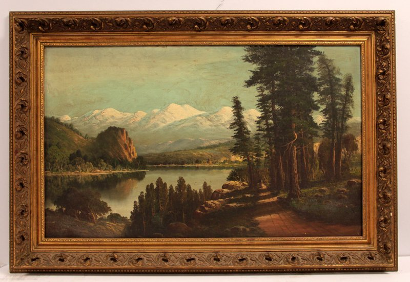 Oil Painting of California Scene