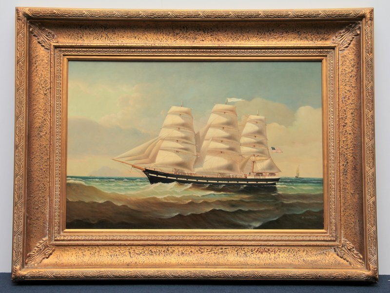 taylor 20th century oil painting on canvas signed