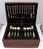 REED & BARTON STERLING FRANCIS 1ST 76PC SET