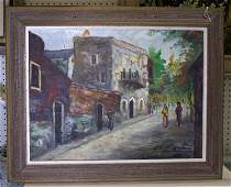 A. Rosenburg-Oil Painting on Canvas