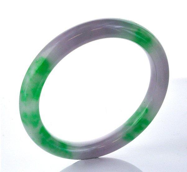 Amazing 1950's Large Jadeite Jade Bangle Bracelet