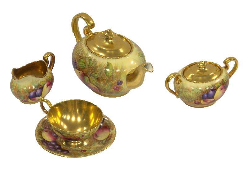 15 piece Aynsley English bone china