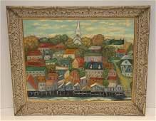 J Logan  Oil Painting on Canvas